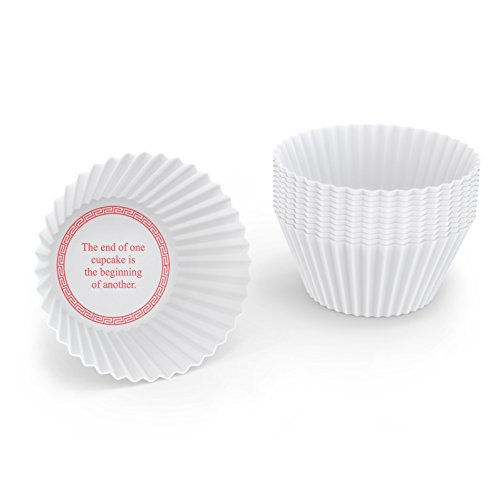 Fred & Friends FORTUNE CAKES Baking Cups, Set of 12