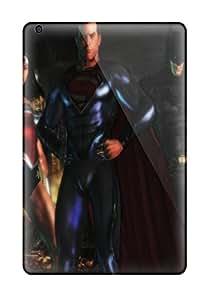 High Grade ZippyDoritEduard Flexible Tpu Case For Ipad Mini/mini 2 - Justice League