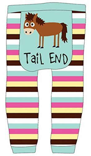Tail End-Horse Infant Leggings by LazyOne in Size Small(6-12mo.) (Tween Leggings)