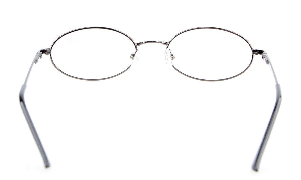 f5b5cf6318438a Eyekepper Lunettes de lecture Lunette de vue ovale - Titane metal qualite  souple leger +2.00  Amazon.fr  Hygiène et Soins du corps