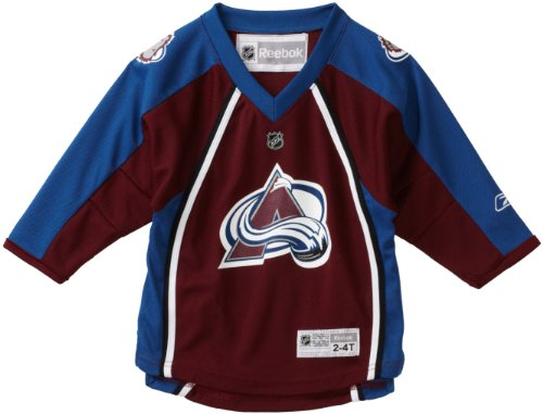 (NHL Toddler Colorado Avalanche Team Color Replica Jersey - R54Hwbqq (Maroon,)