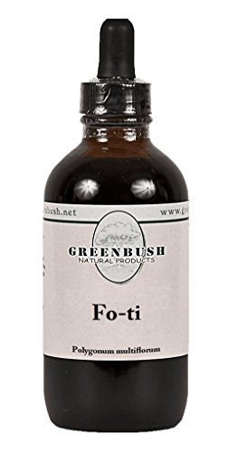 Fo-ti (He Shou Wu) Alcohol-Free Concentrated Liquid Herbal Extract. Super Value Size 4oz Bottle (120ml) 240 Doses of 500mg. Chinese Herbal Tonic for Aging, Hair Health, Natural Youth and Longevity