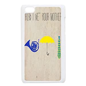 Chinese How I Met Your Mother DIY Cover Case for iPod Touch 4,customized Chinese How I Met Your Mother Phone Case