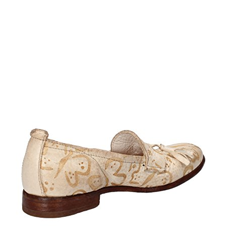 Moccasins Leather Bianca 37 4 eu Mocassini Women's Moma Uk 4 Moma ue Uk Pelle In Donne White 37 8cqwfW5T1