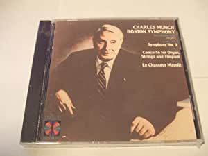 Charles Munch conducts Saint Saens - Symphony No 3; Poulenc - Organ Concerto in G minor; Franck Le Chasseur Maudit (RCA)