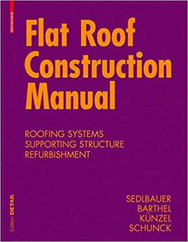Flat Roof Construction Manual (Konstruktionsatlanten) 1st Edition Edition