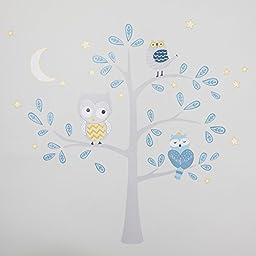 Lambs & Ivy Night Owl Happi by Dena Wall Appliques