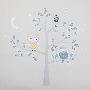 Lambs & Ivy Night Owl Happi by Dena Wall Appliques 57