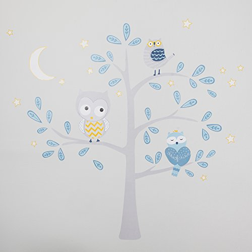 Lambs & Ivy Night Owl Happi by Dena Wall Appliques