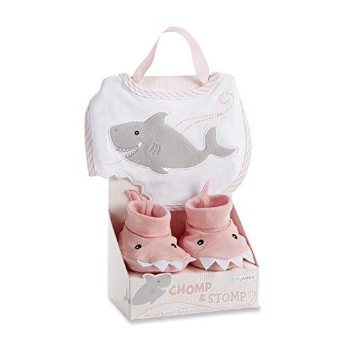 Amazon.com : Baby Aspen Bath Time Bow Wow Puppy Hooded Spa Robe ...