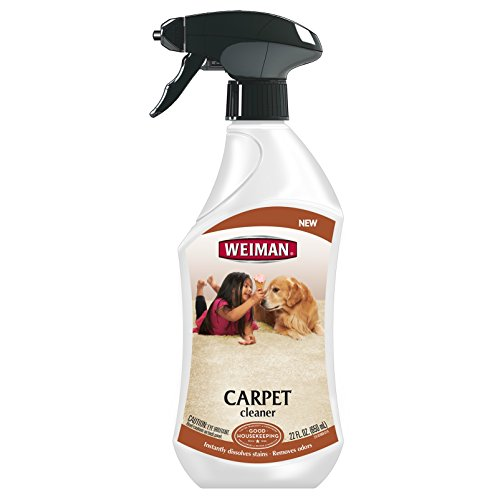 Weiman Carpet Cleaner - Eliminates Tough Odors From Kids and Pets - 22 Fl. Oz.