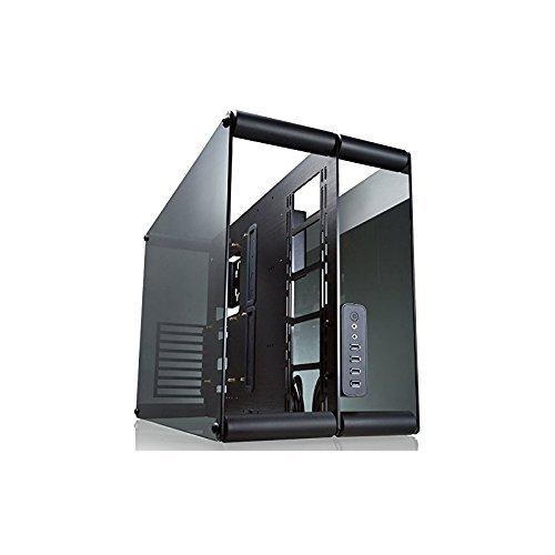 RAIJINTEK Paean Escritorio Negro, Transparente gabinete de computadora - Caja de Ordenador (Escritorio, PC, Aluminio, SPCC,...