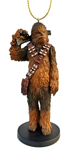 Chewbacca from Solo: A Star Wars Story Figurine Holiday Christmas Tree Ornament - Limited Availability - New for 2018