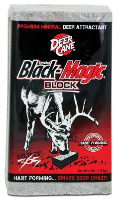 Evolved Industries 64525 Black Magic Deer Attractant, Block, 4-Lbs. - Quantity 6