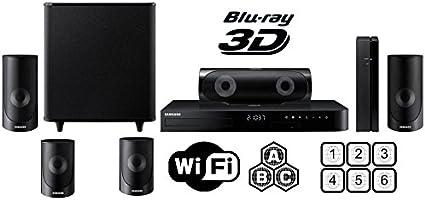 Samsung región libre HT-J5500 Smart Blu-ray sistema de cine en ...