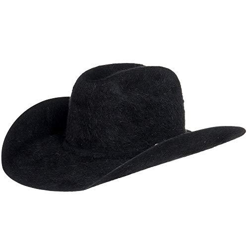 American Hat Company Mens 20X Grizzly Black 4 1/4 Brim Felt Cowboy Hat