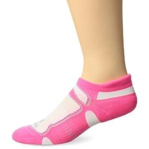 Balega Ultralight No Show Athletic Running Socks for Men and Women (1-Pair), Watermelon, Small