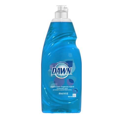 Dawn Ultra Dishwashing Liquid, Original Scent, Blue,  (Dawn Liquid Dish Soap)