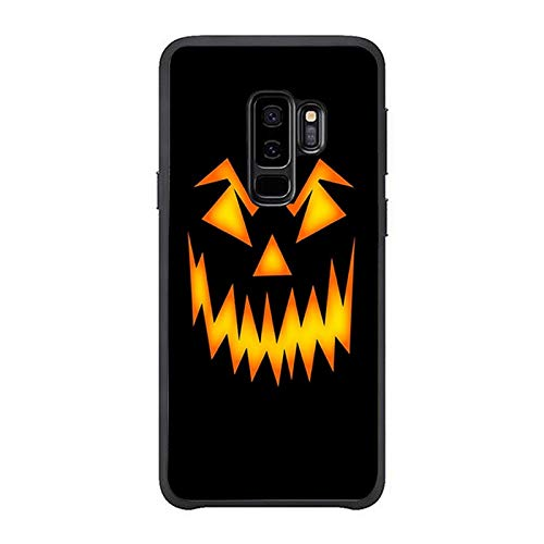 Halloween Scary Pumpkin Face Phone Case Compatible Galaxy s9 Plus Phone Shell Design -