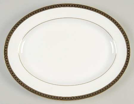 (Waterford china Ashworth Large Platter NEW)