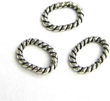20 Sterling Silver 6mm Round 21 Gauge Soldered Closed Jump Rings