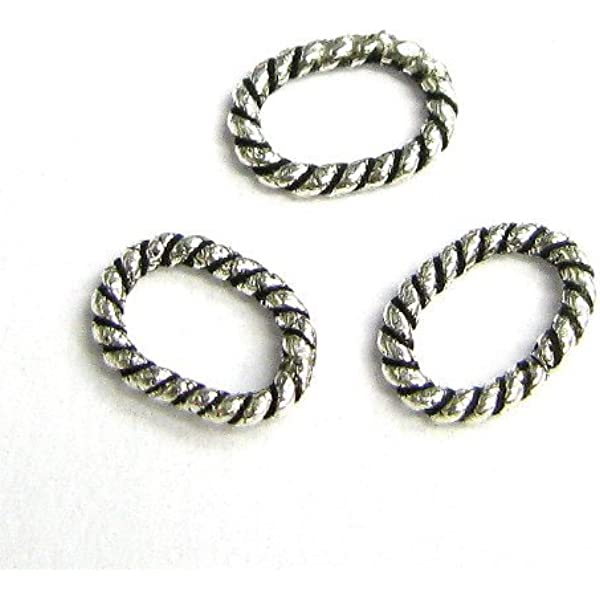 20pcs 925 Sterling Silver Soldered Closed Jump Rings Making Jewelry Findings