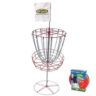 Emsco Esp Disc Golf Starter Set W  Goal   3 Disc Set   Perfect For Beginners