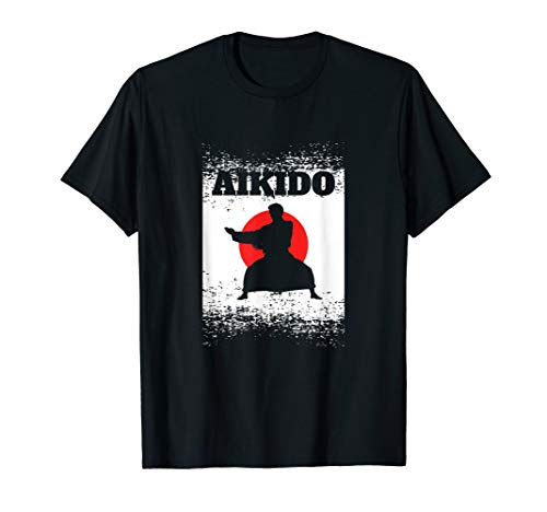 (Aikido T-Shirt - Martial Arts Japan MMA Kung Fu Karate Tee)