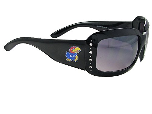 Kansas Jayhawks Black Sunglasses - 7