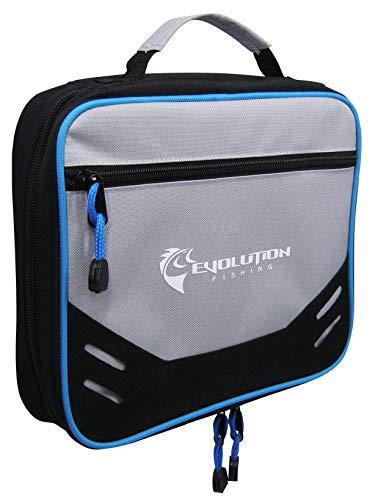 (Evolution Outdoor Design Bait Binder 31017 Evolution Fishing Soft Zippered Bait Management Lure Folder)