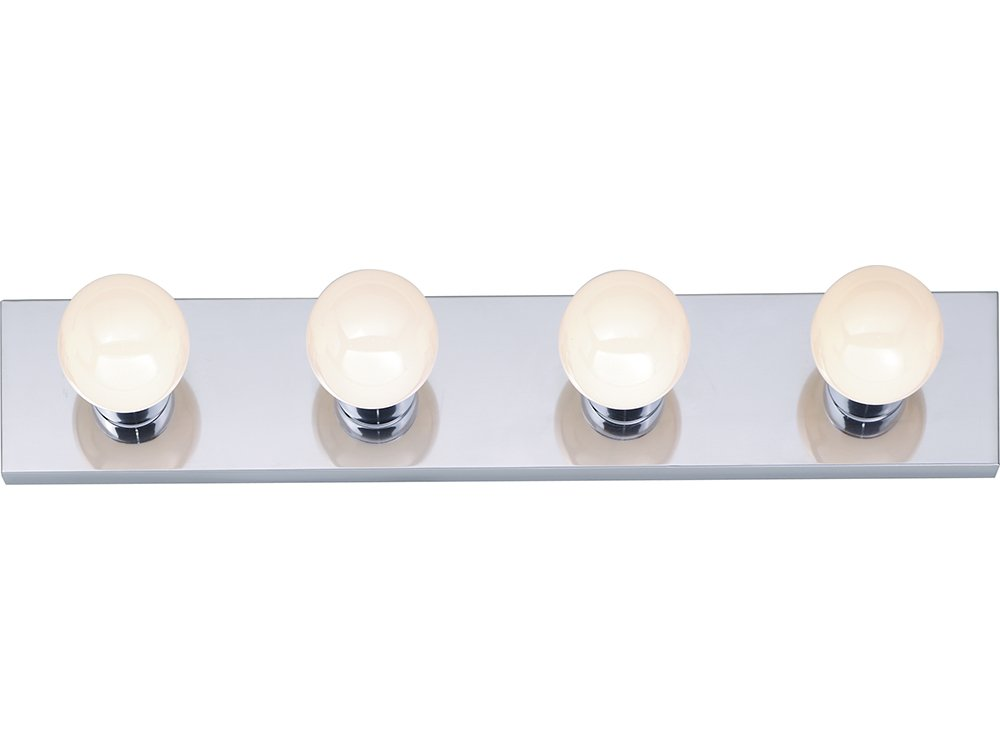 vanity light bar led four strip polished chrome inch blue layer peel off protection lighting fixtures amazon cover portfolio 3 installation