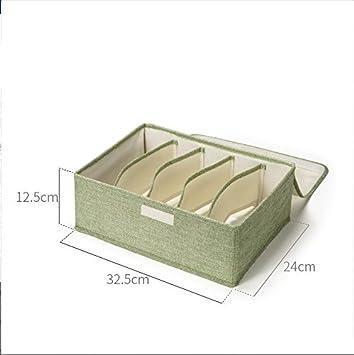 LIUYULIN Caja De Almacenamiento 5 Cajas Cajas De Almacenamiento Cajas Plegables De Tela Cajas De Acabado B: Amazon.es: Hogar