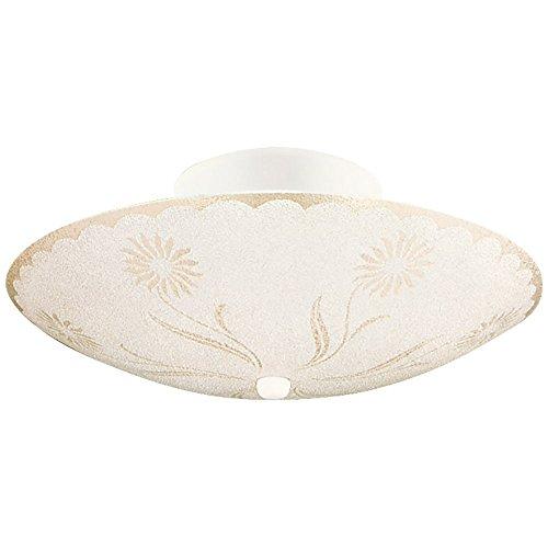 (Design House 501619 2 Light Ceiling Light, White)