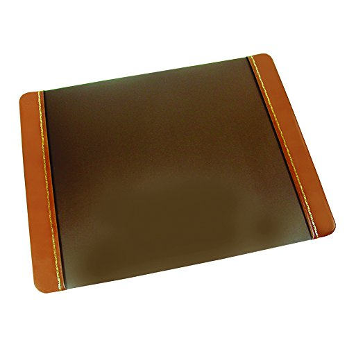 """Artistic 19""""x24"""" Desk Pad Bonded Leather Panels with Lino..."""