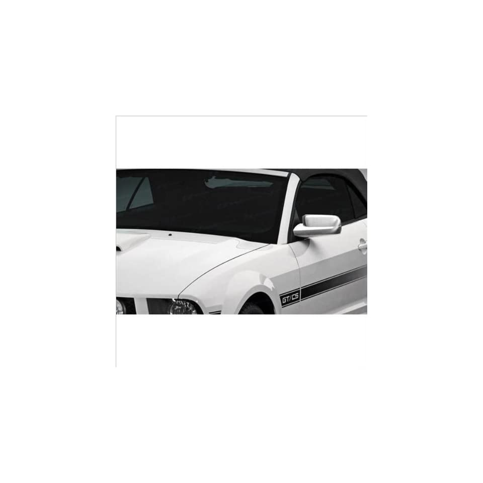 SES Trims Chrome Mirror Covers 05 09 Ford Mustang