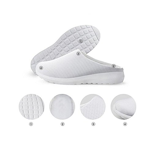 6 Women Water Shoes Female Sandals Beach Fashion cat 3D On Summer Slippers Mesh Breathable Animals Slip ZOvBvxdq7w