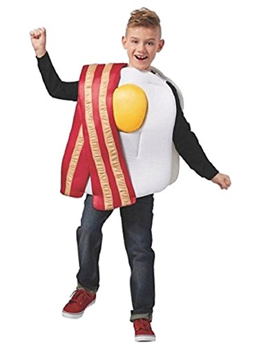 Child's Bacon & Eggs Costume (S/M) -