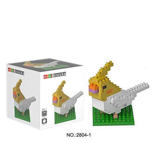 Wisehawk Animal Series Micro Bricks DIY Toys Set Giraffe Turtle Dog Nano Building Blocks Action Figures 3D Diamond Model