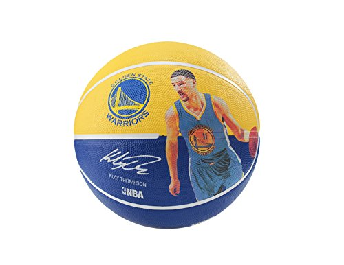 Spalding 71099 Klay Thompson Basketball, Gold/Blue