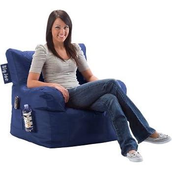 Big Joe Bean Bag Chair Multiple Colors Blue Sapphire