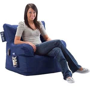 Big Joe Bean Bag Chair, Multiple Colors (Blue Sapphire)