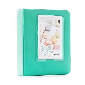 Shopizone Mini 64 Pockets Album for Instax Mini 8/9 / 9+ Accessory Travel Diary to Store Memories – Mint Green 41IUKvUqEUL