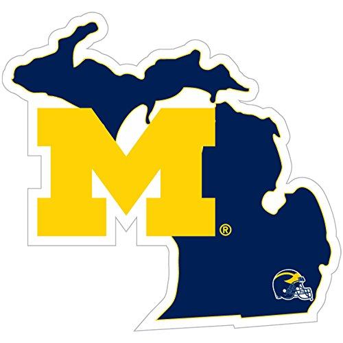 - NCAA Michigan Wolverines Home State Decal, 5