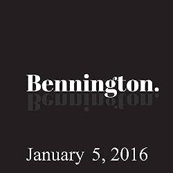 Bennington, January 5, 2016