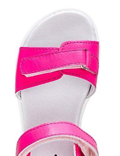 RED WAGON Sandalia de Velcro con Suela de Goma Para Niña Rosa (Pink)