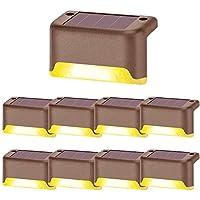 Luces de Cubierta Solares, Solar Camino De Escaleras Al Aire Libre Luz, para terrazas vallas escaleras patios caminos…