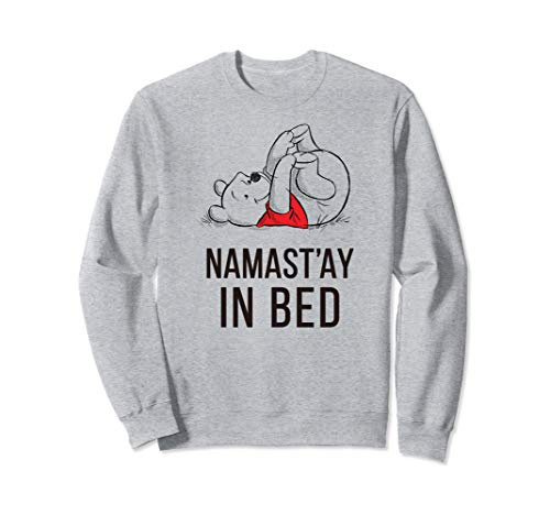 (Disney Winnie the Pooh Namast'ay  Sweatshirt)