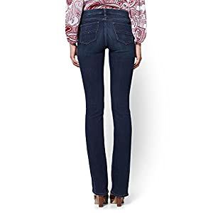 New York & Co. Women's Soho Jeans – Tall Bootcut – Highland Blue
