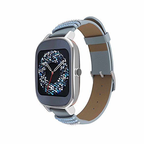 ASUS ZenWatch 2 Silver with Beige Leather Strap 37mm Smart ...