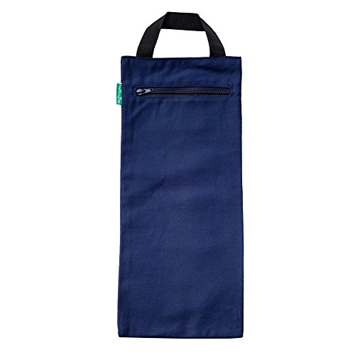 HealthAndYoga(TM) Yoga Sand Bags   Double Bag with Inner Waterproof Bag  Prop for adding Weight and Support (Blue)